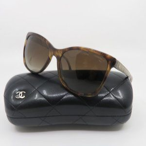 CHANEL 5348 c.1525/S9 Tortoise Polarized Sunglasse